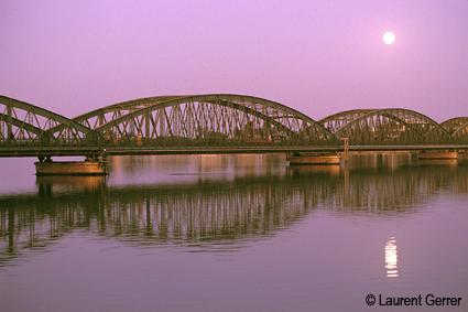 Le Pont Faidherbe de Saint-Louis du Sénégal